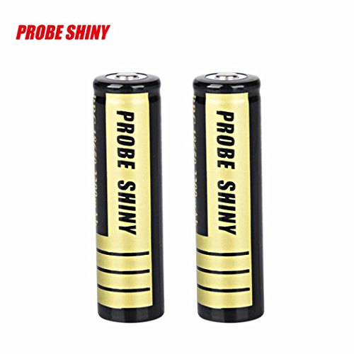 Baomabao 2pcs 18650 3200mAh 3.7v Li-ion BRC Rechargeable Battery For LED Flashlight Torch
