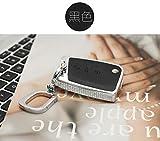 HITSAN Luxury Diamond Auto Key Shell Car Remote Key Cover Chain fob Holder Skin Case Fashion for Volkswagen vw golf 7