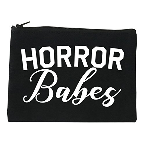 Horror Babes Halloween Cosmetic Makeup Bag Black Small]()