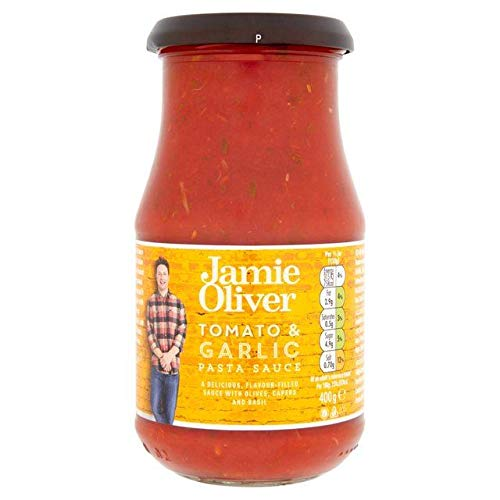 Jamie Oliver Tomato, Olive & Garlic Pasta Sauce 400g - Pack of 6