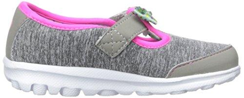 Skechers Kids Go Walk Bitty Bow Sneaker (Toddler/Little Kid),Gray/Multi, by Skechers (Image #7)