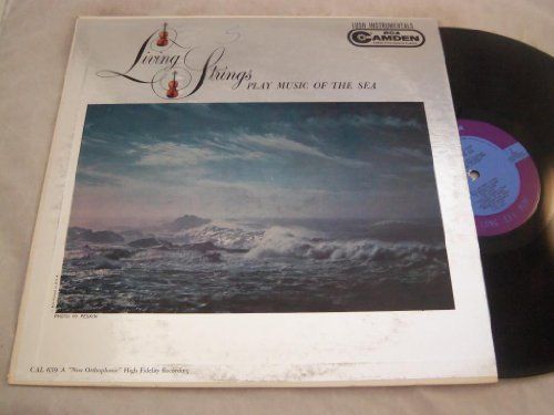 [LP Record] Living Strings Play Music Of The Sea