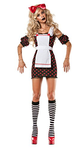 Party King Women's Evil Ragdoll Costume -