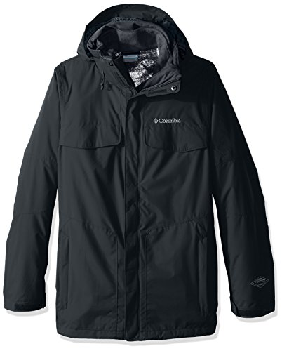 Columbia Men's Bugaboo Interchange Jacket, Deep Woods, Small
