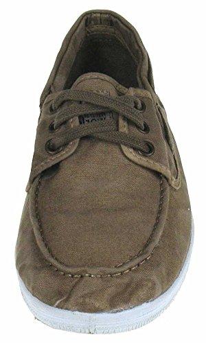 Azalian Zapatos ZALIAN Nt 613 Náutico Textil Beige Beige 38