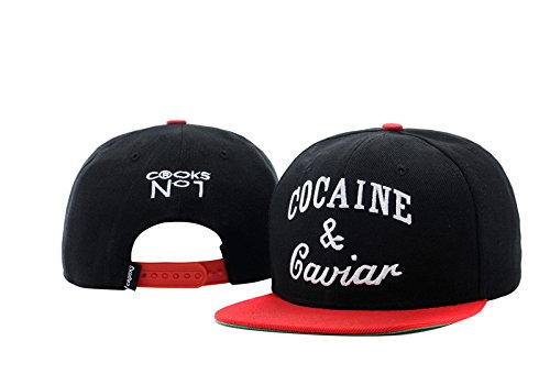 [Cocaine&caviar Game Time Closer Stretch Fit Snapback Flash] (Costume Caviar)