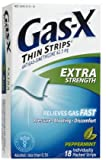 Gas-X Thin Strip-Peppermint-18 ct. (Quantity of 6)