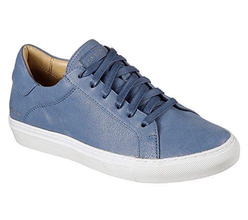 Skechers Mujeres Vaso - Zapatillas Con Cordones Azules