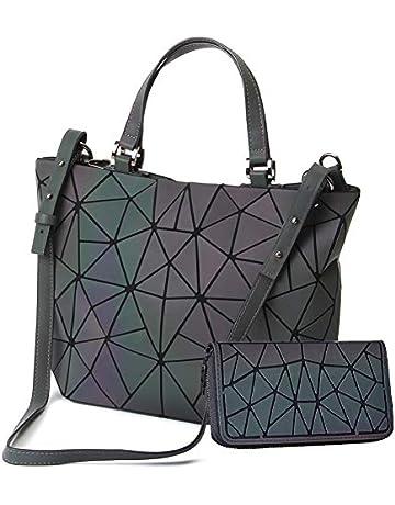 2490766a5adaea HotOne Shard Lattice Design Geometric Bag PU Leather Unique Purses and  Handbags