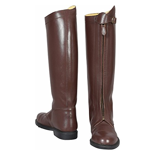 Zip Front Mens Boots - 8