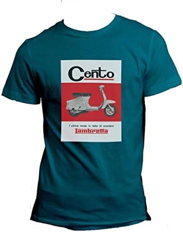 LAMBRETTA Camiseta por (XXL) Azul Cien: Amazon.es: Coche y moto