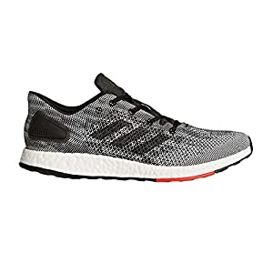adidas Men's Pureboost DPR Running Shoe, Black/Black/White, 10.5 Medium US