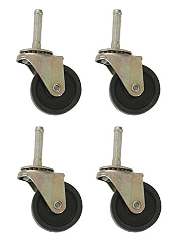 Rollaway Bed Replacement Ball Bearing Swivel Wheels / Casters - Set of 4