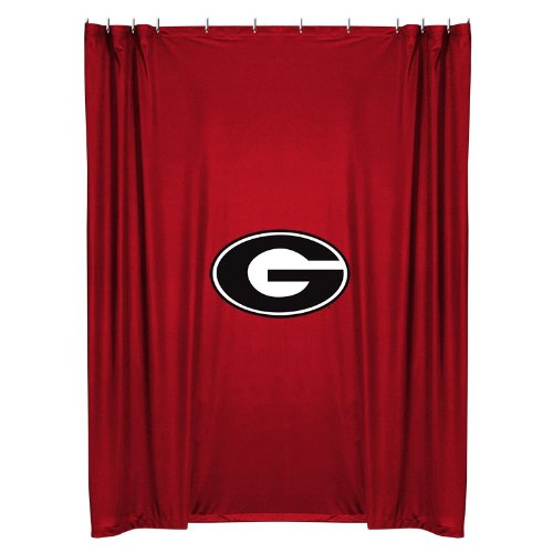 NCAA Georgia Bulldogs Shower (Georgia Bulldogs Shower Curtain)