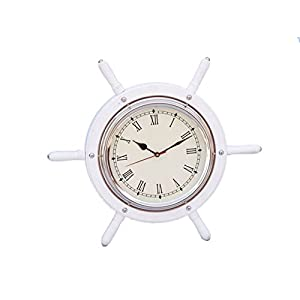 41wbEuxRzhL._SS300_ Best Ship Wheel Clocks