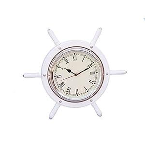 41wbEuxRzhL._SS300_ Coastal Wall Clocks & Beach Wall Clocks