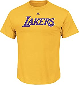 NBA Men's Wordmark Short Sleeve Basic Tee