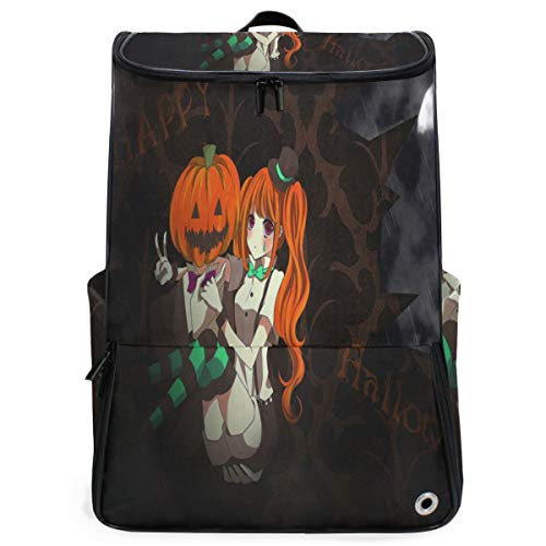 Laptop Backpack Customized Halloween Anime Wallpaper Gym Backpack for Women Big Boxy Back -