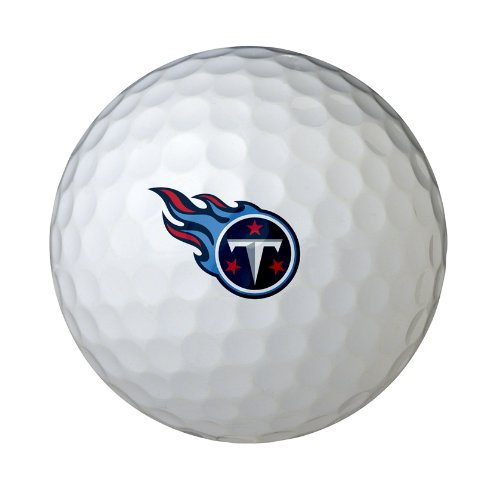 Wilson NFL Tennessee Titans Golf Ball (Ball Titans Golf Tennessee)