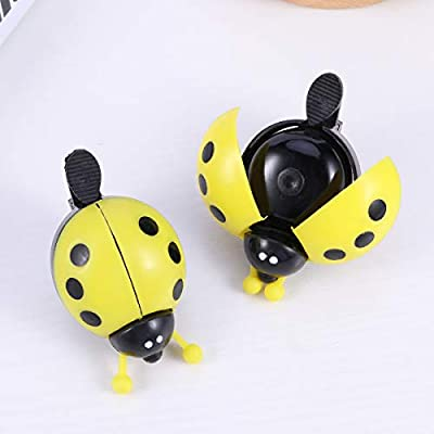 BESPORTBLE 2PCS Kids' Bike Bells Rings Bicycle Cycling Handlebar Ring Sound Horn Bell Alarm - Yellow : Sports & Outdoors