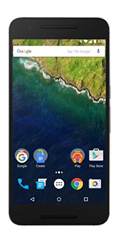 Huawei Nexus 6P  32 GB Graphite (U.S. Version: Nin-A1) - Unlocked 5.7-inch Android 6.0 smartphone w/4G LTE (U.S. Warranty)