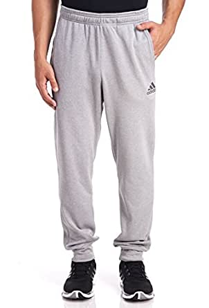 Adidas Men's Ultimate Fleece Tapered Pants - Medium Grey Heather, Medium Grey Heather, Large