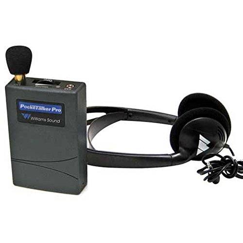 Pocketalker Pro Personal Sound Amplifier with Heavy Duty Folding Headphone H27 - Williams Sound Amplifier