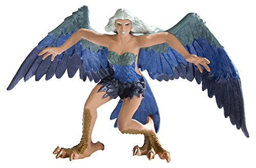 Collection Realms Mythical (Safari Ltd. Mythical Realms - Harpy - Realistic Hand Painted Toy Figurine Model - Quality Construction from Phthalate, Lead and BPA Free Materials - For Ages 3 and Up)
