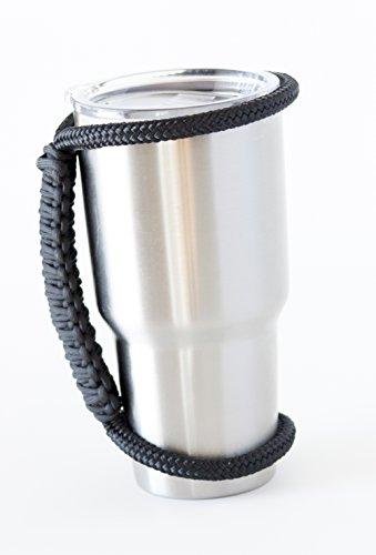 "ULTIMATE ""Rambler Handler"" for 30 oz Tumbler Cup - Universal-Fit for Yeti, SIC, RTIC, Kodiak, Boss & More - Super-Unique Gift & 100% Guaranteed!"