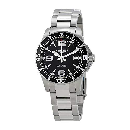 Longines Swiss Watches - Longines HydroConquest Black Dial Automatic Mens Watch L3.741.4.56.6