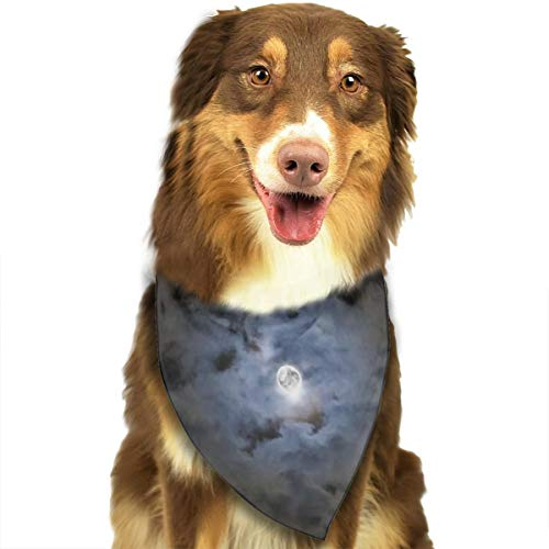 Dog Bandana Triangle Scarfs Puppy Bibs Accessories, Happy Halloween Night, for Dogs, Cats, Pet Birthday Party Gifts Supplies]()