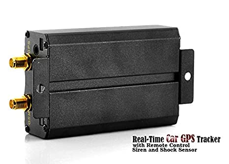 Amazon com: GPS Car Tracker and Car Alarm with Real-Time Tracking