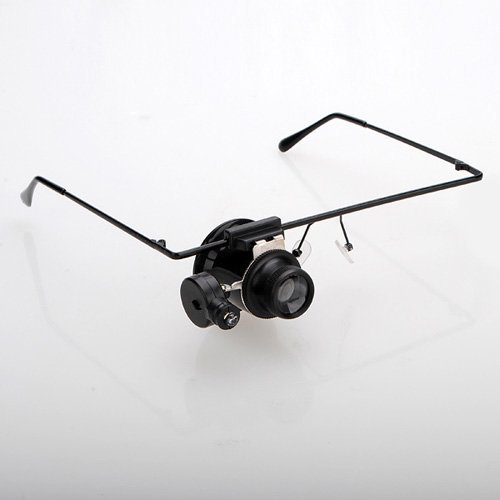 20x magnifier magnifying eye glasses