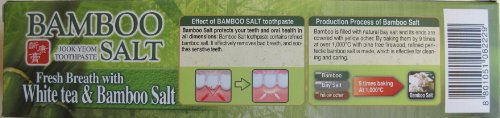 LG Health Care White Tea and Bamboo Salt Toothpaste, 5.7 Ounce Units (Pack of (Bamboo Unit)
