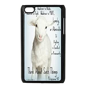 Lamb of God High Qulity Customized Cell Phone Case for iPod Touch 4, Lamb of God iPod Touch 4 Cover Case