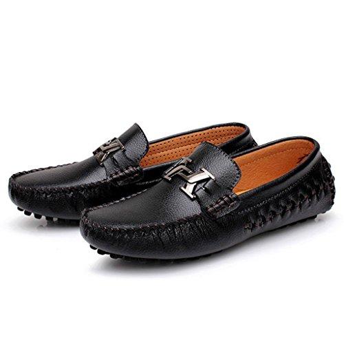 Minitoo - Sandalias con cuña hombre Negro - negro
