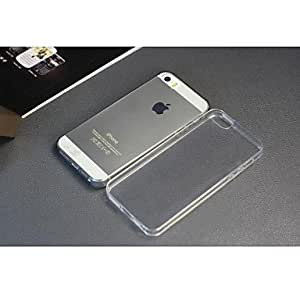 LCJ Ultra-thin Transparent TPU Case for iPhone5/5S , Gray