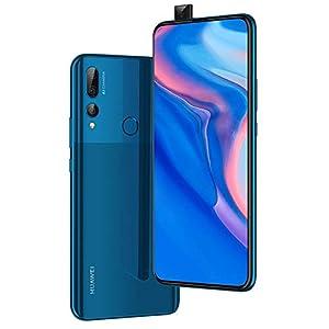Huawei Y9 Prime 2019 (128GB, 4GB RAM) 6.59″ Display, 3 AI Cameras, 4000mAh Battery, Dual SIM GSM Factory Unlocked – STK-LX3, US & Global 4G LTE International Model (Sapphire Blue, 128 GB)
