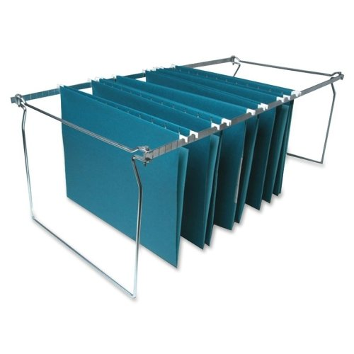 Sparco Hanging File Folder Frames, Letter, Stainless Steel (SPR60529) - Steel Hanging Folder Drawer Frames