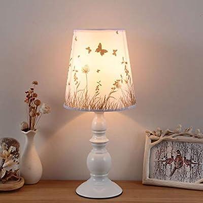 Lámpara de mesa moderna, pequeña, de alta calidad, pantalla ...