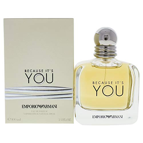 ARMANI EMPORIO BECAUSE ITS YOU L 3 PC HB SET 1.7 EDP SPR 2.5 SG 2.5 PERFUMED BL