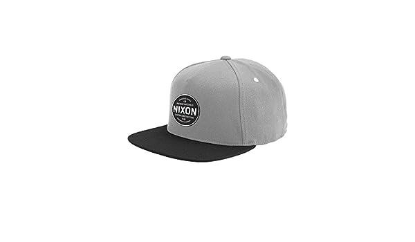 NIXON Lazaro 110 Snapback Hat Black Fall Winter 16-17 - One Size: Amazon.es: Deportes y aire libre