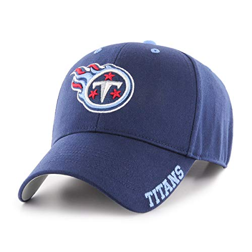 NFL Tennessee Titans Blight OTS All-Star Adjustable Hat, Light Navy, One Size