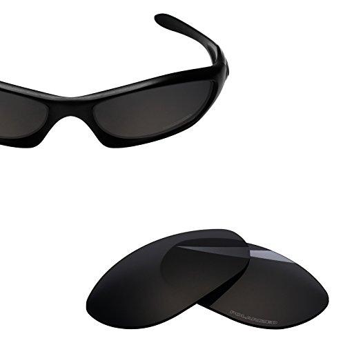BlazerBuck Anti-salt Polarized Replacement Lenses for Oakley Monster Dog - Black