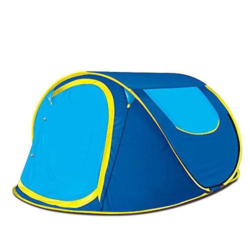 リフレッシュ重要高度アウトドア テント, ポップアップ テント 2 ~ 3 人 自動インスタント ポップアップ ポータブル 防水 グラス 屋外 テントでのキャンプ