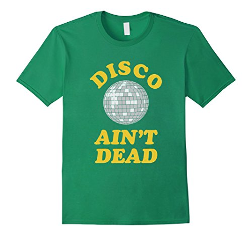 70s Outfits For Men - Mens Funny Retro Disco Dancing T Shirt Gift for 70s Disco Dancer XL Kelly Green