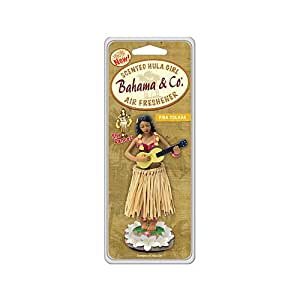 AMERICAN COVERS INC Car Air Freshener, Hula Girl with Pina Colada Scent