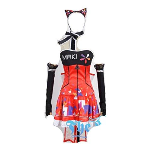 Love Live Video games Awaken Nishikino Maki cosplay costume by Mister Bear