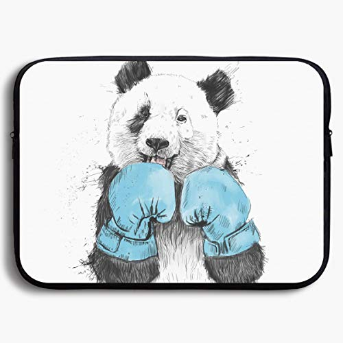- Homlife Laptop Sleeve Bag Boxing Minimalist Panda Graphics 13/15 Inch Briefcase Sleeve Bags Cover Notebook Case Waterproof Portable Messenger Bags