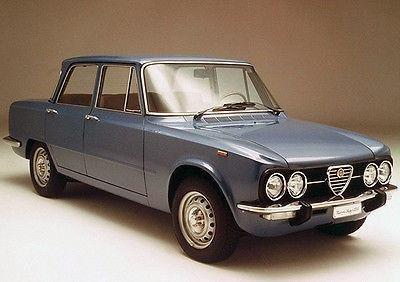 1974 Alfa Romeo Giulia Nuova Super 1300 - Promotional Photo Poster